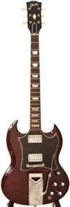 Musical Instruments:Electric Guitars, Gibson SG Standard Cherry Electric Guitar, #956359....