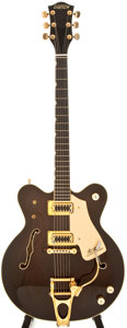 Musical Instruments:Electric Guitars, 1979 Gretsch Chet Atkins Country Gentleman Burgundy Semi-Hollow Body Electric Guitar, #5-9100....