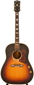 Musical Instruments:Acoustic Guitars, 1954 Gibson J-160E Sunburst Acoustic Guitar, #X884835....