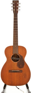 Musical Instruments:Acoustic Guitars, 1936 Martin O-17 Natural Acoustic Electric Guitar, #62373....