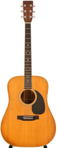 Musical Instruments:Acoustic Guitars, 1971 Martin D-35 Natural Acoustic Guitar, #290236....