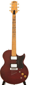 Musical Instruments:Acoustic Guitars, 1974 Gibson Midnight Special Wine Red Electric Guitar, #514068....
