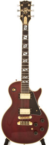 Musical Instruments:Electric Guitars, 1979 Gibson Les Paul 25/50 Anniversary Edition Wine Red ElectricGuitar, Serial # 70229135, Edition # 1984...