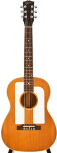 Musical Instruments:Acoustic Guitars, 1966-69 Gibson F25 Natural Acoustic Guitar, #855203....
