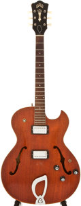 Musical Instruments:Acoustic Guitars, Guild Starfire III Amber Stain Archtop Electric Guitar,#PK-1412....