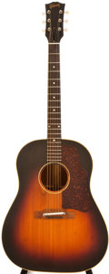 Musical Instruments:Acoustic Guitars, 1959 Gibson J-45 Sunburst Acoustic Guitar, #S2752....