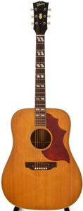 Musical Instruments:Acoustic Guitars, 1969 Gibson SJ Natural Acoustic Guitar, #564713....