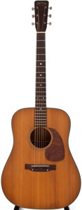Musical Instruments:Acoustic Guitars, 1957 Martin D-18 Natural Acoustic Guitar, #155420....
