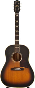 Musical Instruments:Acoustic Guitars, 1955 Gibson Southern Jumbo Sunburst Acoustic Guitar, #W3112....