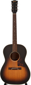 Musical Instruments:Acoustic Guitars, 1955 Gibson LG-1 Sunburst Acoustic Guitar, #W4030....