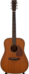 Musical Instruments:Acoustic Guitars, 1955 Martin D-18 Natural Acoustic Guitar, #147307....