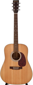 Musical Instruments:Acoustic Guitars, 2001 Martin D1 Natural Acoustic Guitar, #799308....