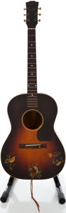 Musical Instruments:Acoustic Guitars, 1944 Gibson LG-2 Sunburst Acoustic Guitar, #2587....
