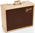 Musical Instruments:Amplifiers, PA, & Effects, Vintage Gibson Discoverer Tremolo GA-8 T Tan Guitar Amplifier#N/A....