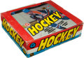 Hockey Cards:Other, 1982-83 O-Pee-Chee Hockey Counter Display Box With 48 packs. ...
