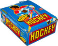 Hockey Cards:Other, 1980 Topps Hockey Counter Display Box With 36 packs. ...