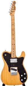 Musical Instruments:Electric Guitars, Mid 1970s Fender Telecaster Natural Solid Body Electric Guitar,#556505....