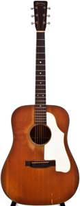 Musical Instruments:Acoustic Guitars, 1955 Martin D-18 Natural Acoustic Guitar, #14150....