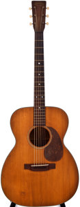 Musical Instruments:Acoustic Guitars, 1945 Martin 000-18 Natural Acoustic Guitar, #91034....