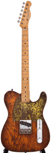 Musical Instruments:Electric Guitars, 1958 Fender Esquire Hippie Stained Electric Guitar,#025751....
