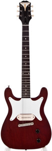 Musical Instruments:Electric Guitars, 1960 Epiphone Coronet Cherry Electric Guitar, #G5872....