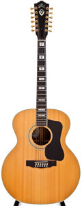 Musical Instruments:Acoustic Guitars, 1979 Guild F512NT Natural 12-String Acoustic Guitar, #100030....