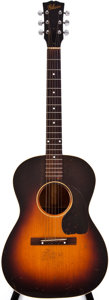 Musical Instruments:Acoustic Guitars, Late 1940s Gibson LG-2 Sunburst Acoustic Guitar, #N/A....