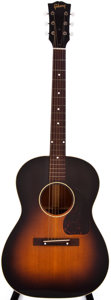 Musical Instruments:Acoustic Guitars, 1950s Gibson LG-2 Sunburst Acoustic Guitar, #N/A....