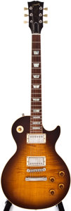 Musical Instruments:Electric Guitars, 1990 Gibson Reissue '59 Les Paul Tobacco Sunburst Electric Guitar,#0 0523....