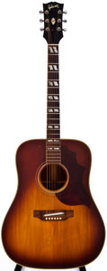 Musical Instruments:Acoustic Guitars, 1969 Gibson SJ Cherry Sunburst Acoustic Guitar, #841380....
