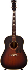 Musical Instruments:Acoustic Guitars, 1947 Gibson Southern Jumbo Sunburst Acoustic Guitar, #832....