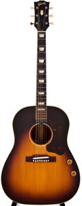 Musical Instruments:Acoustic Guitars, 1959 Gibson J-160E Sunburst Acoustic Guitar, #S695731....