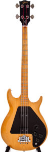 Musical Instruments:Electric Guitars, 1975 Gibson Ripper Natural Electric Bass Guitar, #551895....