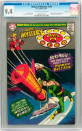 Silver Age (1956-1969):Mystery, House of Mystery #170 Savannah pedigree (DC, 1967) CGC NM 9.4Off-white to white pages....