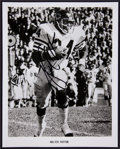 Football Collectibles:Photos, Walter Payton Signed Photograph....