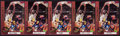 Basketball Cards:Lots, Shaquille O'Neal Signed Cards Lot of 5....