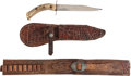 Military & Patriotic:WWII, Impeccably Provenanced Cartridge / Gun Belt and Side Knife Owned and Used by Famed Texas Ranger Frank Hamer.... (Total: 11 Items)