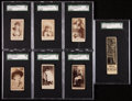 """Non-Sport Cards:Singles (Pre-1950), 1880's """"N"""" Tobacco Cards SGC-Graded Collection (7). ..."""