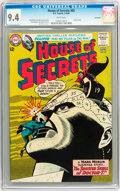 Silver Age (1956-1969):Horror, House of Secrets #65 Savannah pedigree (DC, 1964) CGC NM 9.4 Whitepages....