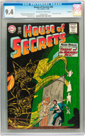 Silver Age (1956-1969):Horror, House of Secrets #64 Savannah pedigree (DC, 1964) CGC NM 9.4Off-white to white pages....