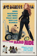 "Movie Posters:Exploitation, The Hard Ride (American International, 1971). One Sheet (27"" X41""). Exploitation.. ..."