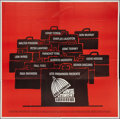 "Movie Posters:Drama, Advise & Consent (Columbia, 1962). Six Sheet (81"" X 81"").Drama.. ..."