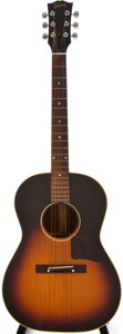 Musical Instruments:Acoustic Guitars, 1956 Gibson LG-2 Sunburst Acoustic Guitar, #V58641....