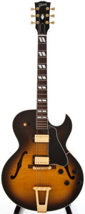 Musical Instruments:Acoustic Guitars, 1998 Gibson ES175D Sunburst Archtop Electric Guitar, #92038469....