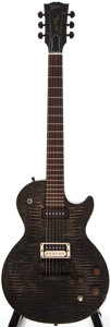 Musical Instruments:Electric Guitars, 2007 Gibson Les Paul BFG Black Stain Electric Guitar, #012970562....