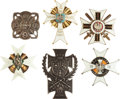 Military & Patriotic:Foreign Wars, Poland Six Military Badges... (Total: 6 Items)