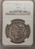 Morgan Dollars: , 1899 $1 Fine 12 NGC. NGC Census: (6/7211). PCGS Population(11/9941). Mintage: 330,846. Numismedia Wsl. Price for problem f...
