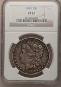 Morgan Dollars: , 1899 $1 VF25 NGC. NGC Census: (6/7198). PCGS Population (13/9909).Mintage: 330,846. Numismedia Wsl. Price for problem free...