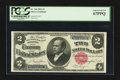 Large Size:Silver Certificates, Fr. 246 $2 1891 Silver Certificate PCGS Superb Gem New 67PPQ.. ...