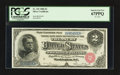 Large Size:Silver Certificates, Fr. 241 $2 1886 Silver Certificate PCGS Superb Gem New 67PPQ.. ...